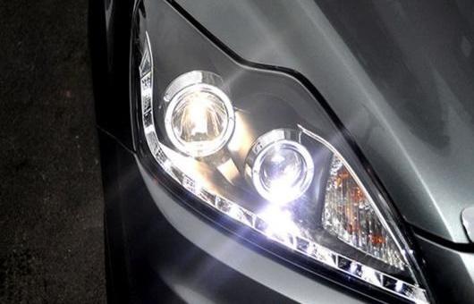 AL 適用: フォード/FORD フォーカス R8 ヘッドライト 2009-2011 LED DRL レンズ ダブル ビーム H7 HID キセノン BI 4300K~8000K 35W・55W AL-HH-0440