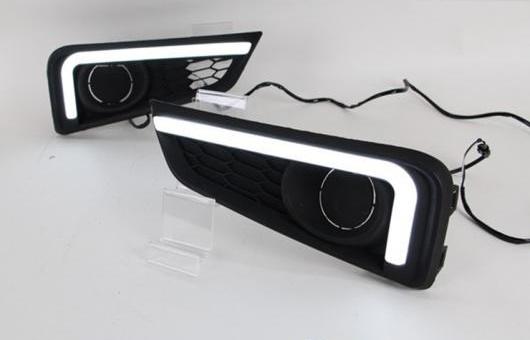 AL 適用: ホンダ シティ LED DRL フォグ ランプ デイタイムランニングライト 高光度 ガイド AL-HH-0455