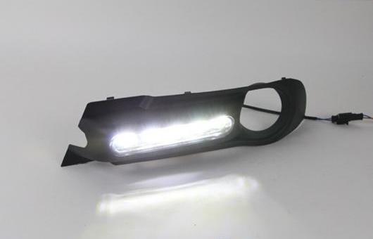 AL 適用: ビュイック/BUICK エクセル 2013 LED DRL デイタイムランニングライト 高光度 ガイド AL-HH-0481