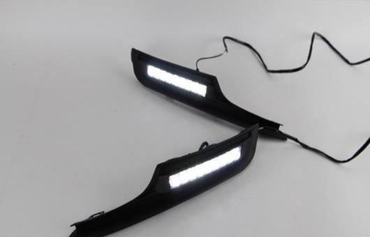 AL 適用: VW フォルクスワーゲン/VOLKSWAGEN ゴルフ 7 2013-2014 LED DRL 高光度 ガイド フォグ ランプ デイタイムランニングライト AL-HH-0491