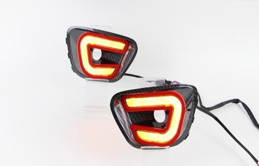 AL 適用: ジープ/JEEP コンパス 2013-2014 LED DRL フォグ ランプ デイタイムランニングライト 高光度 ガイド AL-HH-0528