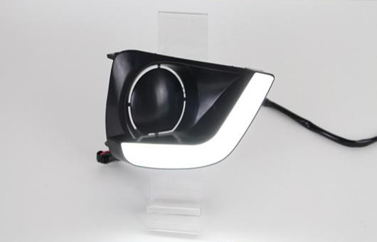 AL 適用: トヨタ ヴィオス LED DRL フォグ ランプ デイタイムランニングライト 高光度 ガイド ライト AL-HH-0557