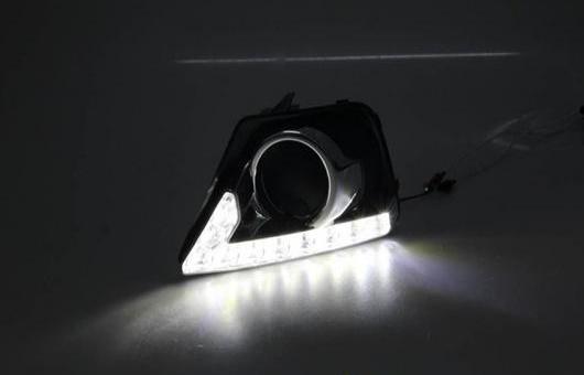 AL 10 LED レンズ DRL 適用: フォード/FORD エコスポーツ 2013 2014 デイタイムランニングライト ホワイト AL-HH-0559