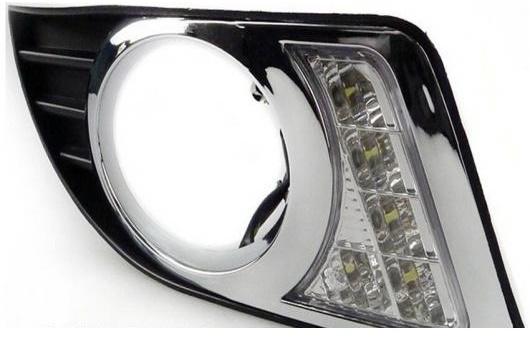 AL 適用: ビュイック/BUICK ラクロス ビュイック エクセル 2008-2012 LED DRL デイタイムランニングライト 高光度 ガイド AL-HH-0569