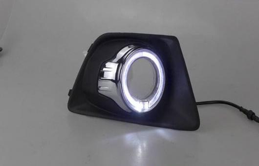 AL 適用: フォード/FORD エコスポーツ 2013-2014 LED DRL 高光度 ガイド フォグ ランプ デイタイムランニングライト A AL-HH-0591
