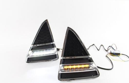 AL 適用: フォード/FORD フォーカス LED DRL 2012-2013LED フォグ ランプ デイタイムランニングライト 高光度 ガイド A スタイル AL-HH-0596