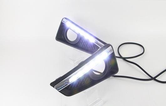AL 適用: ホンダ シティ LED DRL 2015 フォグ ランプ デイタイムランニングライト 高光度 ガイド AL-HH-0601