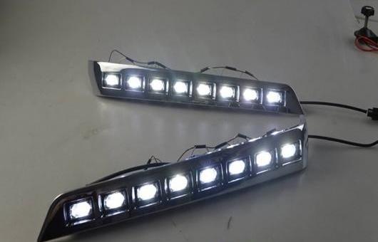 AL 適用: トヨタ ランドクルーザー LED DRL フォグ ランプ デイタイムランニングライト 高光度 ガイド DR AL-HH-0608