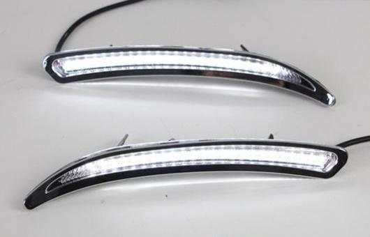 AL ペア LED ライト DRL デイタイムランニングライト ターン 適用: ビュイック/BUICK リーガル GS 2012 2013 AL-HH-0619