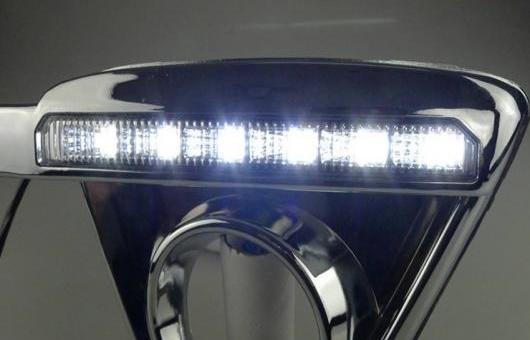 AL 適用: マツダ CX-5 2012-2014 LED DRL フォグ ランプ デイタイム ランニング 高光度 ガイド ライト B スタイル AL-HH-0633