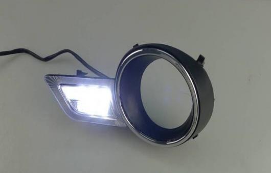 AL 適用: トヨタ ハイランダー LED DRL 高光度 ガイド フォグ ランプ デイタイムランニングライト A AL-HH-0637