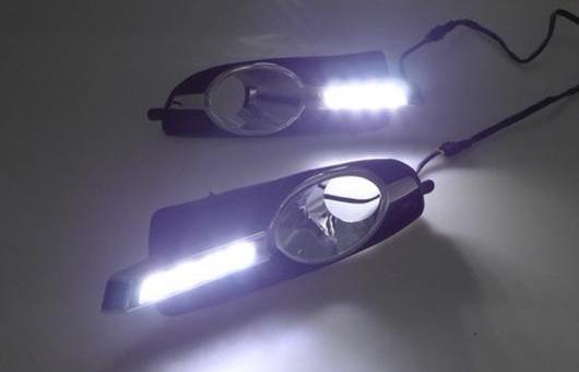 AL 適用: ビュイック/BUICK ラクロス LED DRL デイタイムランニングライト 高光度 ガイド 4 ビーズ AL-HH-0657