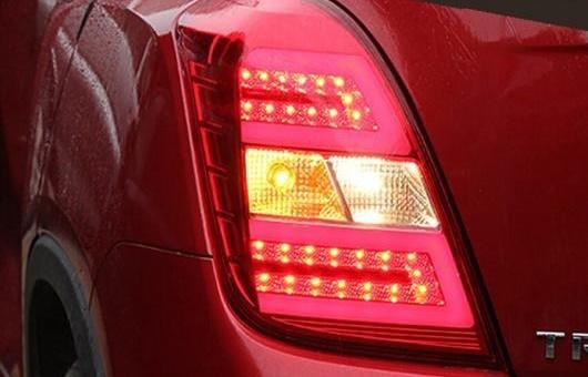 AL テールライト 適用: シボレー/CHEVROLET トラッカー 2014-2015 トラック LED テール ランプ リア DRL + ブレーキ パーク シグナル ライト レッド AL-HH-0703