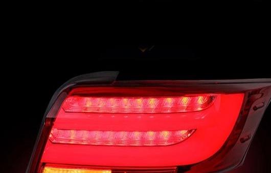 AL LED テール ランプ 適用: トヨタ VOIS テールライト アセンブリ 2013-2015 リア ライト DRL + ターンシグナル ブレーキ レッド AL-HH-0722
