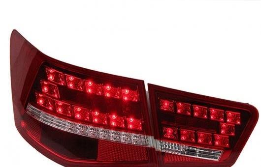 AL 適用: 起亜 フォルテ テール ライト 2010-2013 セラトー LED リア ランプ DRL + ブレーキ パーク シグナル レッド AL-HH-0735