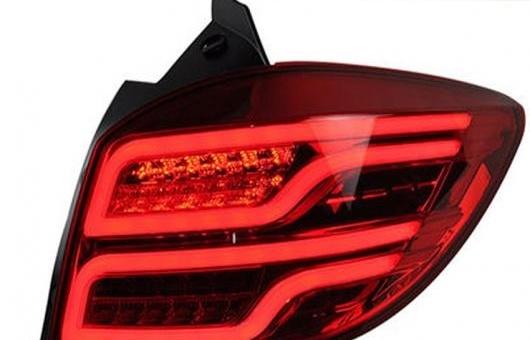 AL 適用: シボレー/CHEVROLET クルーズ テール ライト ハッチ バック LED リア ランプ DRL + ブレーキ パーク シグナル レッド AL-HH-0738