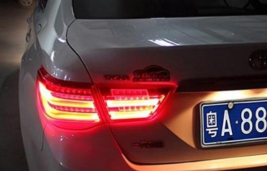 AL 適用: トヨタ レイツ/マークX テールライト 2010-2012 マーク X LED テール ランプ リア DRL + ブレーキ パーク シグナル ライト レッド AL-HH-0747