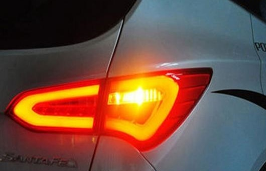 AL LED テール ランプ 適用: ヒュンダイ/現代/HYUNDAI IX45 テールライト サンタフェ リア ライト DRL + ターンシグナル ブレーキ リバース レッド AL-HH-0748