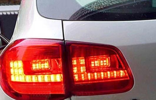 AL 適用: VW フォルクスワーゲン/VOLKSWAGEN ティグアン テールライト アセンブリ 2013-2016 LED テール ライト リア ランプ DRL + ブレーキ パーク レッド AL-HH-0801