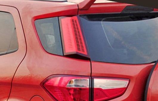 AL 適用: フォード/FORD エコスポーツ リア 列 ランプ 2014-2015 年 モデル リアライト DRL + ブレーキ パーク シグナル LED ライト レッド AL-HH-0804