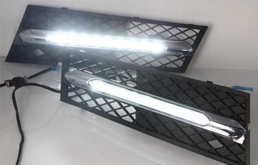 AL 適用: BMW/ビーエムダブリュー5 2012-2015 LED DRL フォグ ランプ デイタイム ランニング 高光度 ガイド ライト 35W ホワイト 5500K AL-HH-0825