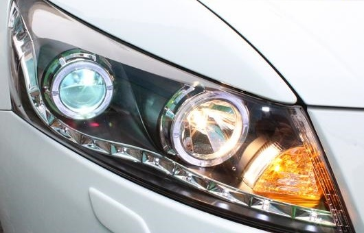 AL ヘッドランプ 適用: ホンダ アコード 2008-2012 LED ヘッドライト DRL H7/D2H HID キセノン BI レンズ 4300K~8000K 35W・55W AL-HH-0896