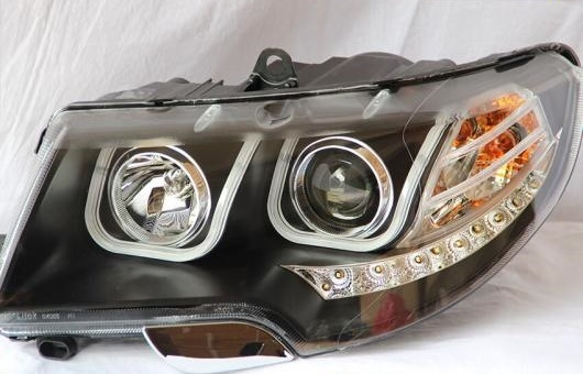 AL ヘッドランプ 適用: シュコダ スペルブ 2009-2012 LED ヘッドライト DRL H7/D2H HID キセノン BI レンズ 4300K~8000K 35W・55W AL-HH-0897
