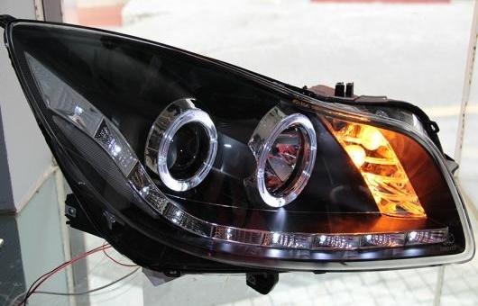AL ヘッドランプ 適用: ビュイック/BUICK リーガル 2009-2012 LED ヘッドライト DRL H7/D2H HID キセノン BI レンズ 4300K~8000K 35W・55W AL-HH-0900