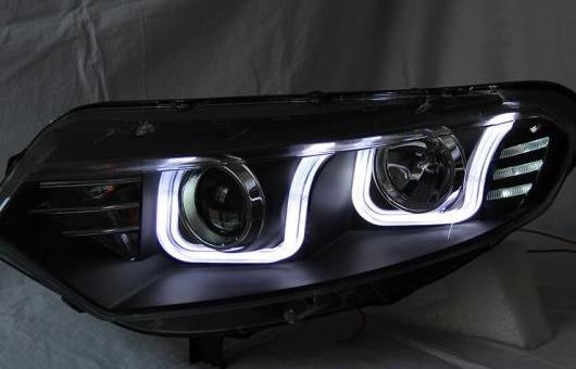 AL ヘッドランプ 適用: フォード/FORD エコスポーツ U スタイル 2012-2014 LED ヘッドライト DRL H7/D2H HID キセノン BI レンズ 4300K~8000K 35W・55W AL-HH-0911