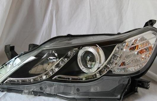 AL ヘッドランプ 適用: トヨタ レイツ/マークX 2011-2014 LED ヘッドライト DRL H7/D2H HID キセノン BI レンズ 4300K~8000K 35W・55W AL-HH-0928