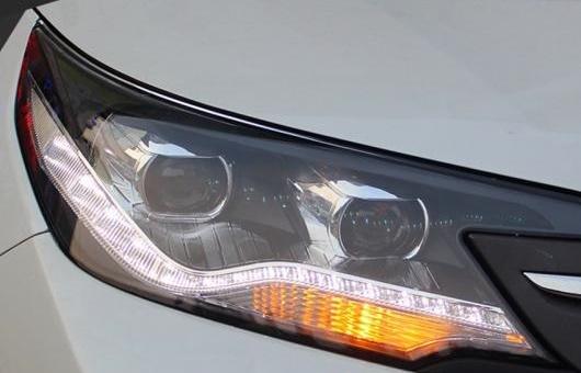 AL ヘッドライト 適用: ホンダ CRV 2013-2015 LED ヘッドランプ デイタイムランニングライト DRL バイキセノン HID 4300K~8000K 35W・55W AL-HH-0933