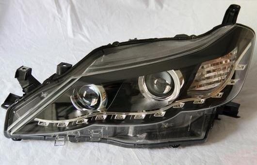 AL 適用: トヨタ レイツ/マークX LED ヘッドライト 2010-2013 ヘッドランプ アセンブリ ターン ライト DRL レンズ H7 HID キセノン BI 4300K~8000K 35W・55W AL-HH-0979