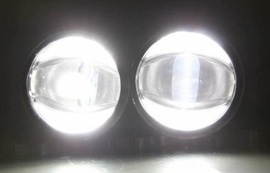 AL デイタイムランニングライト 適用: スズキ ビターラ LED フォグ ライト オート エンジェル アイ フォグランプ DRL ハイ&ロー ビーム 6000K 35W AL-HH-1025