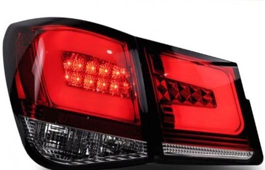 AL テール ランプ 適用: シボレー/CHEVROLET クルーズ LED ライト 2009-2014 アルティス リア DRL + ブレーキ パーク シグナル ストップ レッド AL-HH-1094