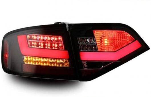 AL テール ランプ 適用: アウディ/AUDI A4-B8 LED ライト 2009-2012 アルティス リア DRL + ブレーキ パーク シグナル ストップ レッド AL-HH-1101