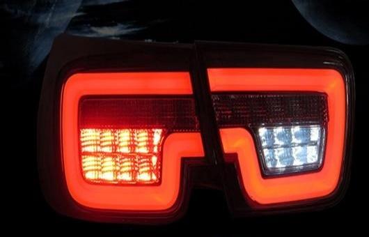 AL 適用: シボレー/CHEVROLET マリブ LED テールライト 2012-2015 テール ライト リア ランプ DRL + ブレーキ パーク シグナル レッド AL-HH-1120