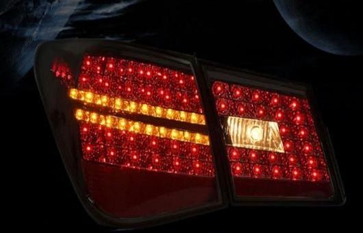 AL 適用: シボレー/CHEVROLET クルーズ LED テールライト 2009-2015 テール ライト リア ランプ DRL + ブレーキ パーク シグナル レッド AL-HH-1124