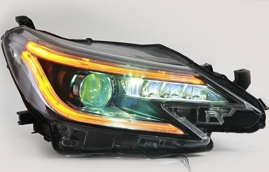 AL LED ヘッドランプ 適用: トヨタ マーク X ヘッドライト 2013 DRL H7 HID Q5 バイキセノン レンズ ロー BEA 4300K~8000K 35W・55W AL-HH-1131