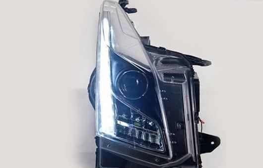 AL LED ヘッドランプ 適用: キャデラック/CADILLAC ATS ヘッドライト 2014-2016 DRL H7 HID Q5 バイキセノン レンズ ロー ビーム 4300K~8000K 35W・55W AL-HH-1134