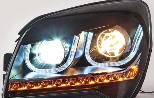 AL LED ヘッドランプ 適用: 起亜 スポーテージ ヘッドライト 2007-2013 DRL H7 HID Q5 バイキセノン レンズ ロー ビーム 4300K~8000K 35W・55W AL-HH-1152