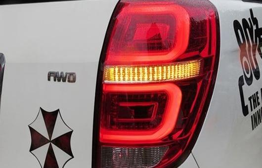 AL 適用: シボレー/CHEVROLET キャプティバ LED テールライト 2008-2014 テール ライト リア ランプ DRL + ブレーキ パーク シグナル レッド AL-HH-1166