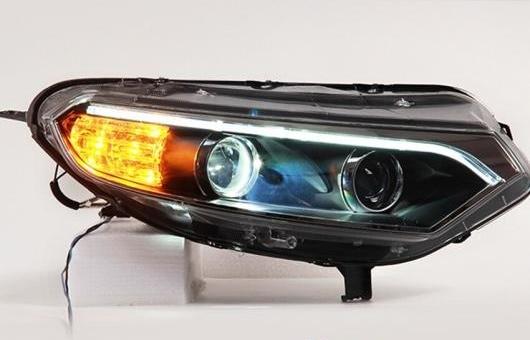 AL LED ヘッドランプ 適用: フォード/FORD エコスポーツ ヘッドライト 2013-2015 DRL H7 HID Q5 バイキセノン レンズ ロー ビーム 4300K~8000K 35W・55W AL-HH-1168