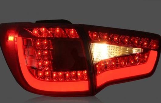 AL 適用: 起亜 スポーテージ R LED テールライト 2010-2015 テール ライト リア ランプ DRL + ブレーキ パーク シグナル レッド AL-HH-1172