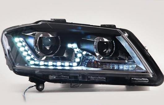 AL 適用: ヒュンダイ/現代/HYUNDAI エラントラ ヘッドライト 12-15 LED GIT ヘッドランプ エンジェル アイ DRL H7 HID R20 バイキセノン LEN 4300K~8000K 35W・55W AL-HH-1187