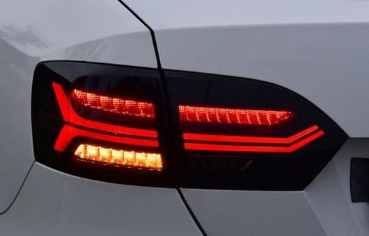 <title>送料無料 AL 適用: VW フォルクスワーゲン VOLKSWAGEN 卓出 ジェッタ テールライト 2012-2017 LED テール ランプ リア DRL + ブレーキ パーク シグナル ライト レッド AL-HH-1231</title>
