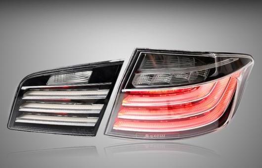 AL テール ランプ 適用: BMW/ビーエムダブリュー 5シリーズ F18 520 523 525 528 530 535LI 2011-2017 LED リア DRL + ブレーキ パーク シグナル ストップ 35W レッド AL-HH-1246
