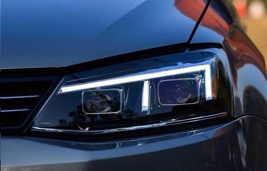 AL 適用: VW フォルクスワーゲン/VOLKSWAGEN ジェッタ ヘッドライト 2012-2017 MK6 ヘッドランプ LED ガイド BI キセノン HID レンズ パーキング 4300K~8000K 35W・55W AL-HH-1261