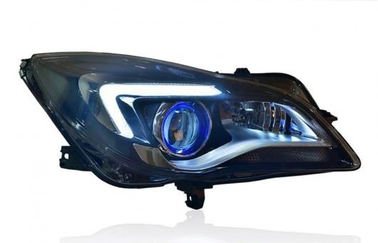 AL 適用: ビュイック/BUICK リーガル 2014-2016 ヘッドライト LED DRL レンズ ダブル ビーム HID キセノン 4300K~8000K 35W・55W AL-HH-1280