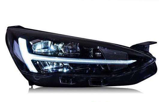 AL スタイリング 適用: 2019 フォード フォーカス フル LED ライト ヘッドライト アセンブリ デイタイムランニングライト ターンシグナル 4300K~8000K 35W・55W AL-HH-1302