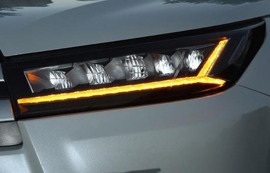 AL 適用: トヨタ ハイランダー ヘッドライト 2018 クルーガー DRL ロー ビーム ハイ LED ダイナミック ターンシグナル オール 6000K コールド ホワイト AL-HH-1305